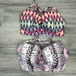 Victoria's Secret Bikini Top Lot of 2 32DD